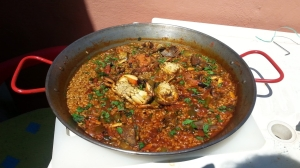 Arroz marinero de cangrejos