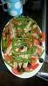 Ensalada de verano judias verdes ,tomate ,sardinas