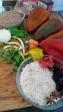 Pimientos rellenos de trigo ecológico y arroz basmati