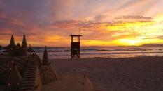 Puesta de sol Playa de Palma
