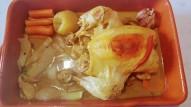 Pollo estofado a la sidra con bulbode hinojo